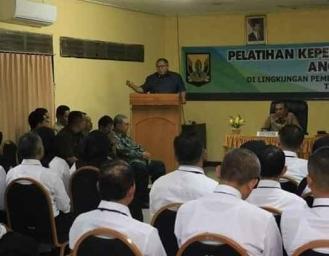 PKP 40 PNS Kabupaten Sukabumi, Marwan : PNS Harus Memiliki Kompetensi