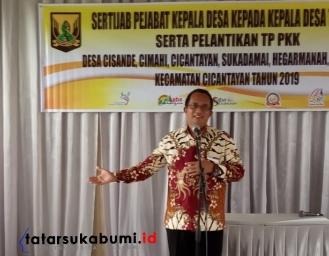 DPMD Sukabumi Warning Kades, Sekdis : Satu Rupiah Uang Negara Harus Dipertanggungjawabkan