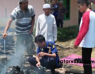 Kebakaran di Sukabumi Kakek 71 Tahun Meninggal Dunia