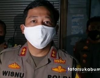 Wanita Dibakar di Pasar Tipar Sukabumi dievakuasi Patroli Backbone Polres Sukabumi Kota