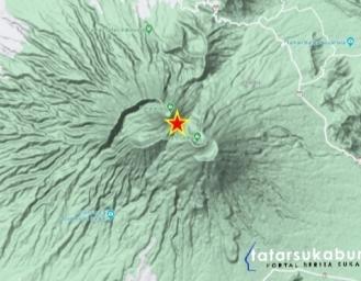 Gempa Terkini Sukabumi - Cianjur Dipicu Sesar Aktif Gunung Gede Pangrango