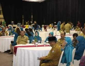 Pelantikan Tri Suswati Tito Karnavian sebagai Ketua Umum Tim Penggerak PKK Indonesia