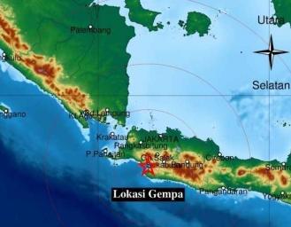 Gempa Terkini Sukabumi Berkekuatan M 3.3