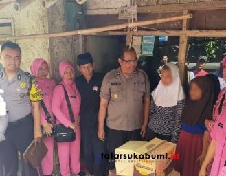 Yatim Piatu Penjaja Gorengan di Cibadak, Kapolres Sukabumi Turun Tangan