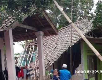 Gempa Sukabumi Terkini Sejumlah Rumah Rusak