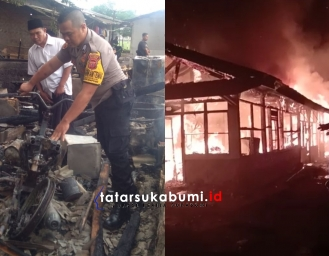Penyebab 4 Bedeng Terbakar di Perkebunan Bojongasih Simpenan