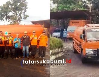 Bekasi Banjir BPBD Kabupaten Sukabumi Terjunkan Pasukan Oranye