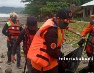2 Jenazah Korban Tenggelam di Palabuhanratu Ditemukan SAR