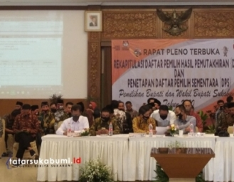 Pleno Daftar Pemilih Sementara Pemilihan Bupati Sukabumi 2020 KPU Temukan Jumlah Pemilih Menurun 10 Ribu