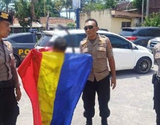 Tenteng Celurit Bocah Berseragam Biru Putih Diamankan Polisi di Palabuhanratu
