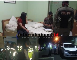 Jelang Natal dan Tahun Baru Operasi Cipta Kondisi dan KKYD Polres Sukabumi Razia Kendaraan Hingga Tempat Hiburan