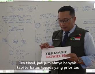 Tes Masif Covid-19 Akan Segera Dilakukan di Jawa Barat, Ridwan Kamil Jelaskan Prosedurnya