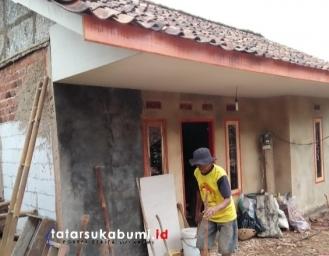 35 Rutilahu di Desa Kebonmanggu Gunungguruh Dapat Bantuan Program BSPS