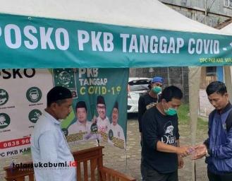 PKB Buka Posko Tanggap Darurat Corona, Anwar Sadad : Screening Covid-19 Gratis Bagi Masyarakat Sukabumi