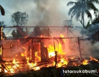 Rumah di Kabandungan Ludes Terbakar Diduga Akibat Kompor Gas