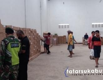 KPU Terima Logistik Surat Suara Pilkada Kabupaten Sukabumi
