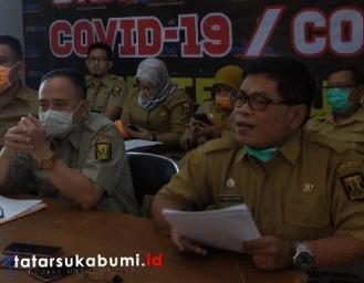 Wilayah PSBB Kabupaten Sukabumi Diperluas Jadi 14 Kecamatan 20 PKM