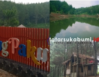 Situ Cukang Paku Danau Ditengah Hutan Pinus Pabuaran Sukabumi