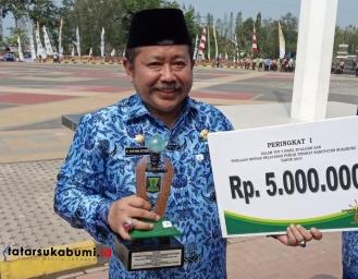 Disdukcapil Kabupaten Sukabumi Raih Prestasi Dinas Terbaik Dalam Inovasi dan Pelayanan Publik Tingkat Kabupaten dan Provinsi Jawa Barat