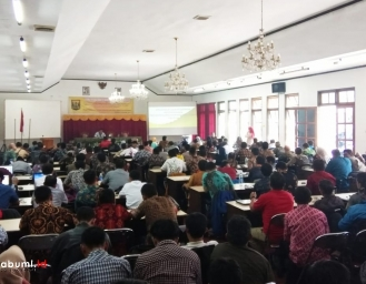 Diseminasi Penyusunan APBDes DPMD Kabupaten Sukabumi