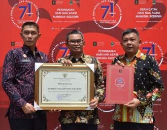 Pemkab Sukabumi Kabupaten Peduli Hak Asasi Manusia