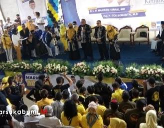 Marwan Hamami - Iyos Somantri Resmi Daftar KPU 'Siap Lanjutkan Kebaikan'
