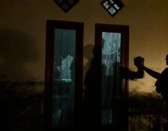 Buntut Pemilihan Kepala Desa di Ciracap, 4 Rumah Timses Rusak Dilempar Batu