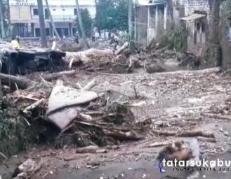 Dampak Amukan Sungai Cicatih di 12 Desa 3 Kecamatan Sukabumi