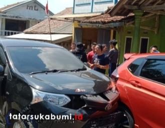 Avanza Tabrak Honda Jazz di Ruas Jalan Palabuhanratu - Kiaradua