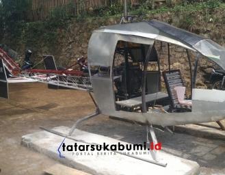 Jebolan Anak STM di Sukabumi Ciptakan Helikopter Gardes JN 77 GM