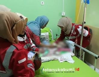 Pasien Hidrosefalus Masih Tunggu Jadwal Operasi di RSUD Sekarwangi Cibadak