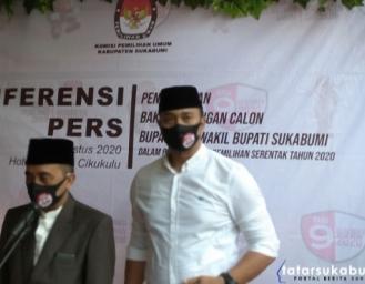 Abu Bakar - Sirojudin Akan Tempuh Tahapan Lanjutan Sebelum Ditetapkan Sebagai Calon Bupati dan Wakil Bupati Sukabumi