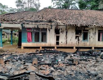 Kebakaran di Sukabumi, Rumah Warga Curugkembar Rata Dengan Tanah