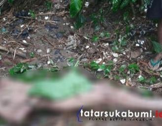 Jenazah Pria Ditemukan Tanpa Busana di Sungai Cicatih Cibadak