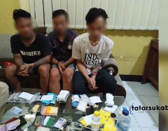 Polisi Gulung Sindikat Jaringan Pengedar Obat Terlarang di Sukabumi