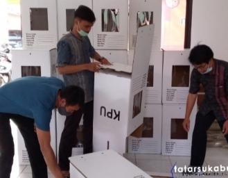 Persiapan Pilkada 2020 Panitia Pemungutan Suara Kecamatan Kabandungan Sukabumi