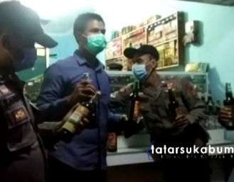 Polisi Gencar Berantas Peredaran Miras di Wilayah Hukum Sukabumi