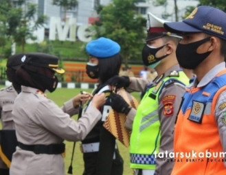 Persiapan Nataru Operasi Lilin Lodaya 2020 Polres Sukabumi Kota