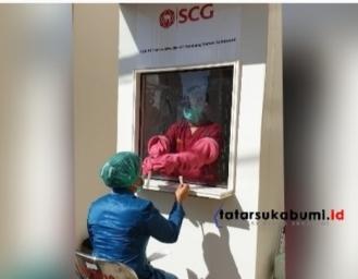 SCG Donasikan Bilik SWAB Covid-19 Pertama di Sukabumi