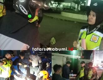 Tekan Kejahatan Curas Curat Curanmor dan Narkoba Polres Sukabumi Gelar Operasi KKYD