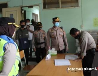 Kapolres Sukabumi Kota Tinjau Kesiapan dan Keamanan Gudang Logistik Pilkada Sukabumi