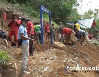 Jembatan Gantung Akses Penghubung 2 Kecamatan di Sukabumi Dibangun Swadaya Donatur