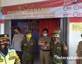 Polres Sukabumi Kota Soroti Pemberlakuan Pembatasan Kegiatan Masyarakat di Kecamatan Kebonpedes
