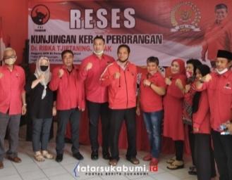 Ribka Tjiptaning Berikan Sapi Kurban Hingga Bahas Kemenangan PDI Perjuangan di Pilkada Sukabumi