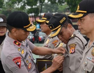 Personil Polresta Sukabumi Raih Polisi Teladan Tingkat Polda Jabar