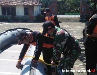 Pencarian 2 Korban Tenggelam di Perairan Ujunggenteng Sukabumi Terkendala Cuaca