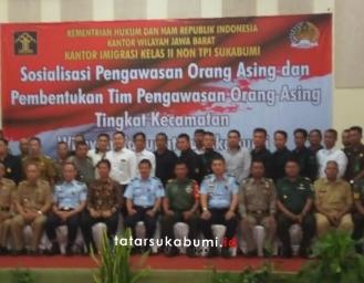 Imigrasi Sukabumi Bentuk Tim Pengawasan Orang Asing Hingga Tingkat Kecamatan