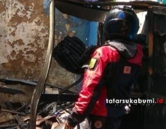 Rumah Warga Nagrak Sukabumi Terbakar Ternyata Ini Penyebabnya