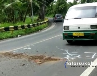 Insiden Maut di Jalan Langganan Kecelakaan Jalur Tengkorak Cikembar Sukabumi