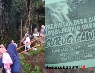 Gegara Corona Objek Wisata Palabuhanratu dan Geopark Ciletuh Ditutup, Curug Caweni Cidolog Malah Buka